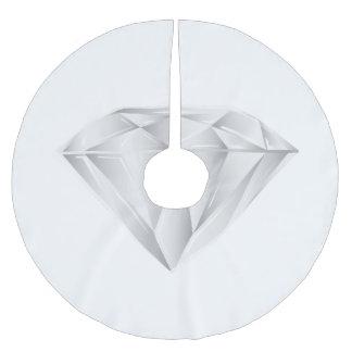 White Diamond for my sweetheart Brushed Polyester Tree Skirt