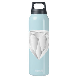 White Diamond for my sweetheart Insulated Water Bottle