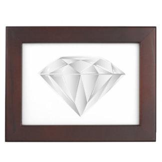 White Diamond for my sweetheart Keepsake Box