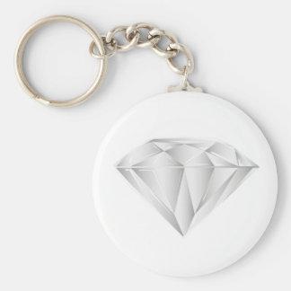 White Diamond for my sweetheart Key Ring