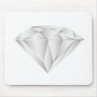 White Diamond for my sweetheart Mouse Pad