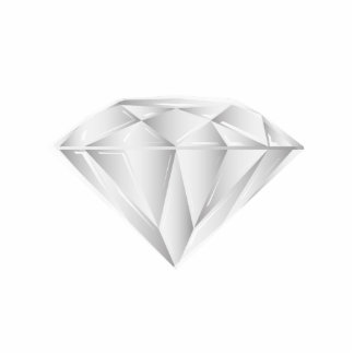 White Diamond for my sweetheart Photo Sculpture Decoration