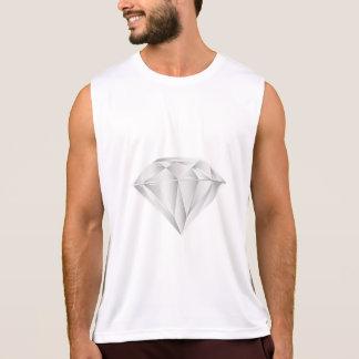 White Diamond for my sweetheart Singlet