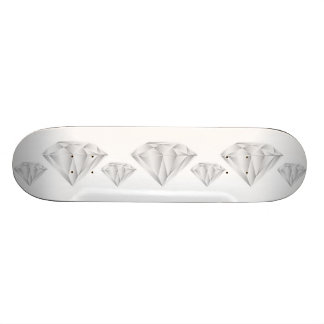White Diamond for my sweetheart Skate Board Deck