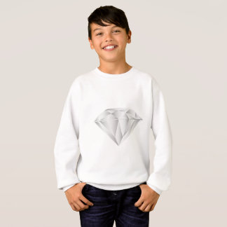 White Diamond for my sweetheart Sweatshirt