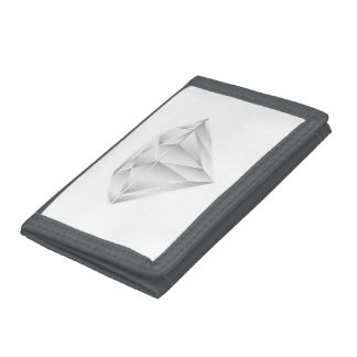 White Diamond for my sweetheart Tri-fold Wallets