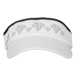 White Diamond for my sweetheart Visor