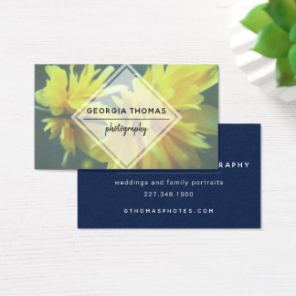 White Diamond Photo Business Card