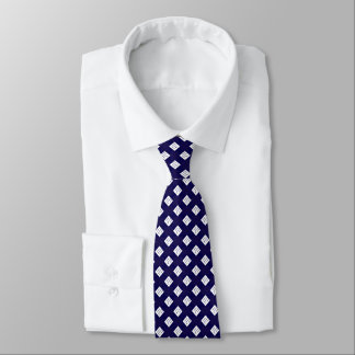 white diamond royal blue formal elegant necktie