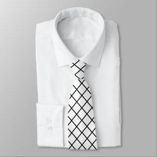 White Diamonds Tie