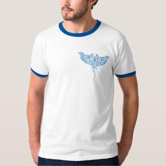 White Divescover.com Tee