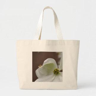 White Dogwood Flower Bag