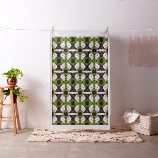 White Dogwood Flower Fabric