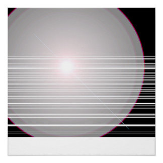 white dot poster
