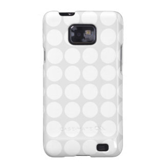 White Dots Galaxy S Case Galaxy SII Cover
