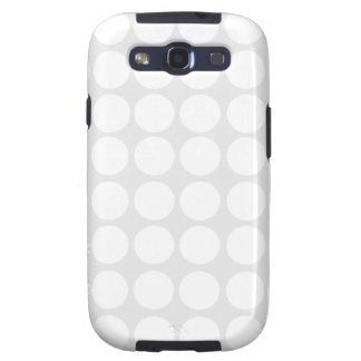White Dots Galaxy S Case Galaxy SIII Cases