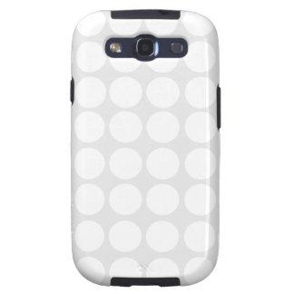 White Dots Galaxy S Case Samsung Galaxy S3 Case