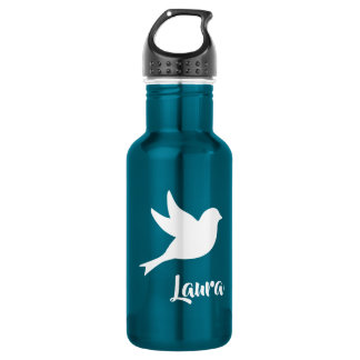 White Dove Beautiful Blue 532 Ml Water Bottle