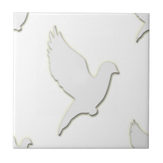 White Dove Ceramic Tile