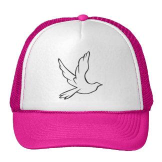 White Dove Trucker Hat