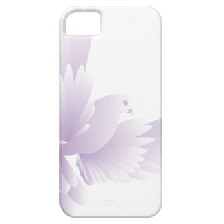 white dove in blue sky 3 barely there iPhone 5 case
