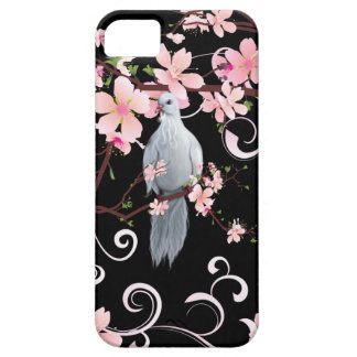 White Dove in Dogwood Blossoms Case For The iPhone 5