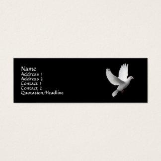 White Dove Mini Business Card