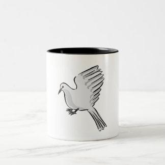 White Dove Coffee Mug