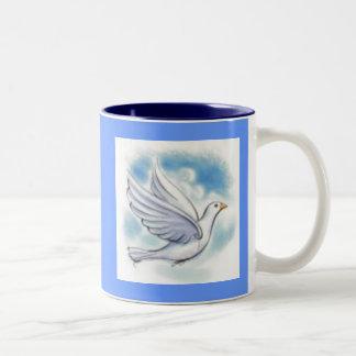 white dove mugs