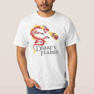 White Drake's Flames Tee