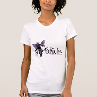 White Dress Fairy Purple Negative - The Bride