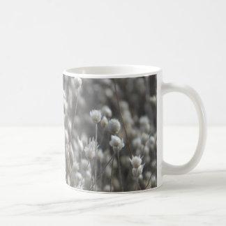 White Dried WildFlowers Mugs