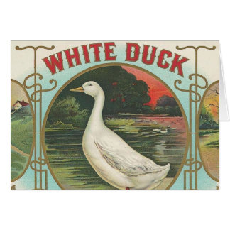 White Duck Card