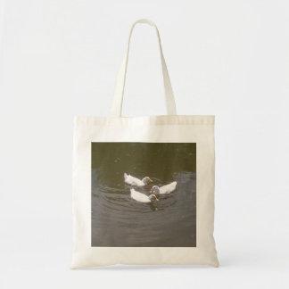 White Ducks Swimming Bag