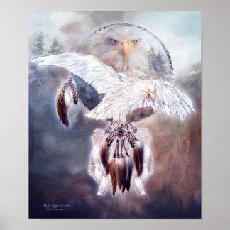 White Eagle Dreams 2 Art Poster/Print Poster