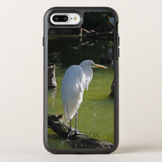 White Egret OtterBox Symmetry iPhone 8 Plus/7 Plus Case