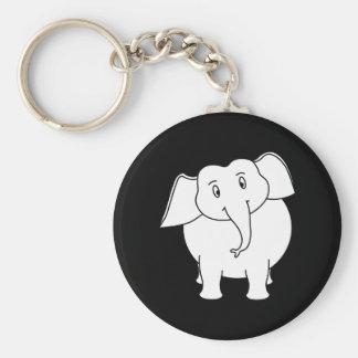 White Elephant. Key Chains