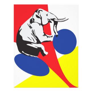 White elephant sale 21.5 cm x 28 cm flyer