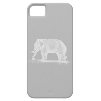 White Elephant Vintage 1800s Illustration iPhone 5 Case