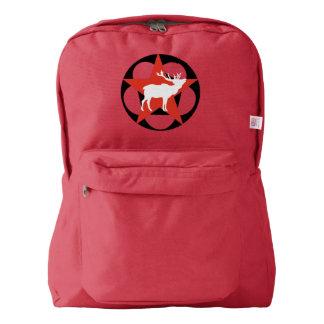 White Elk Red Star Backpack