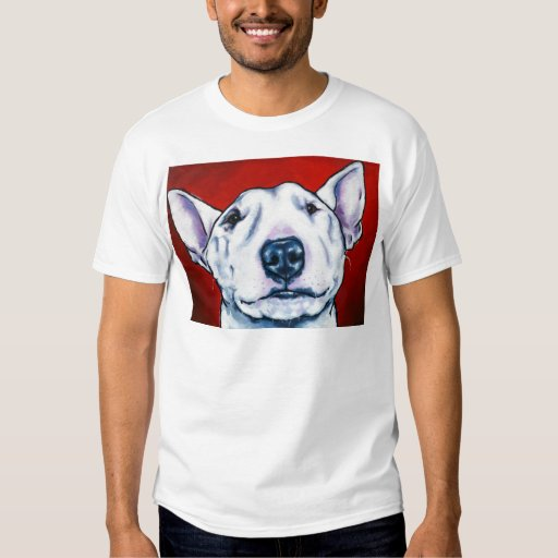 bull terrier clothing white english bull terrier shirts zazzle 7899