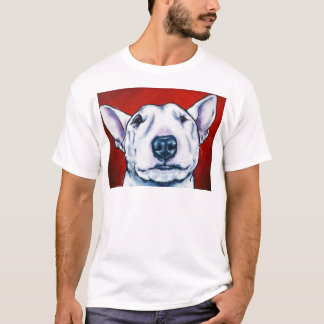 White English Bull Terrier T-Shirt