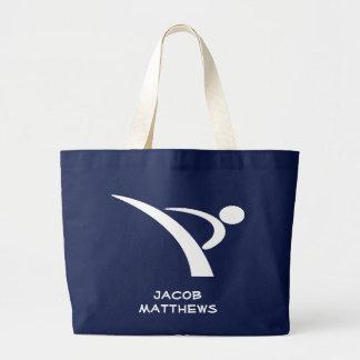 White Extreme Kicker Tote Bag