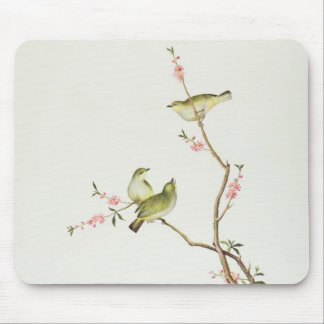White-Eye bird, Ch'ien-lung period Mouse Pad