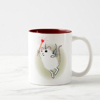 White Faerie Mouse Mug