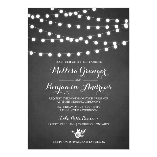 Chalkboard Invitations & Announcements | Zazzle.Com.Au