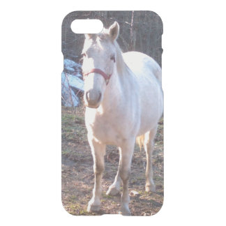 White Farm Horse iPhone 7 Case