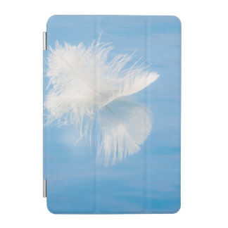 White Feather Reflects on Water | Seabeck, WA iPad Mini Cover
