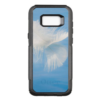 White Feather Reflects on Water | Seabeck, WA OtterBox Commuter Samsung Galaxy S8+ Case