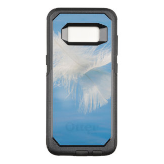 White Feather Reflects on Water | Seabeck, WA OtterBox Commuter Samsung Galaxy S8 Case